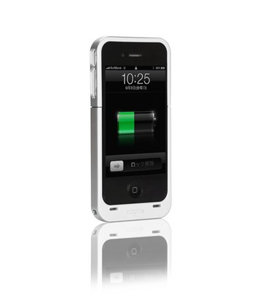 Juice Pack Air for iPhone 4 ホワイト