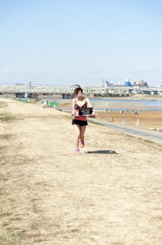 黒田さんも走る!