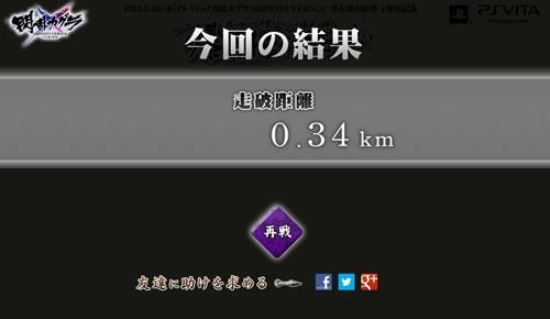 結果は0.34キロ