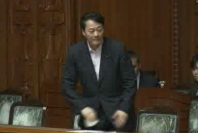 成立の瞬間。海江田経産大臣
