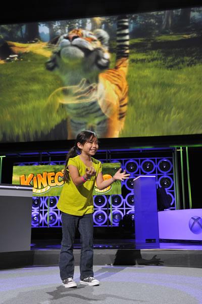 『Kinect Animals』のデモ