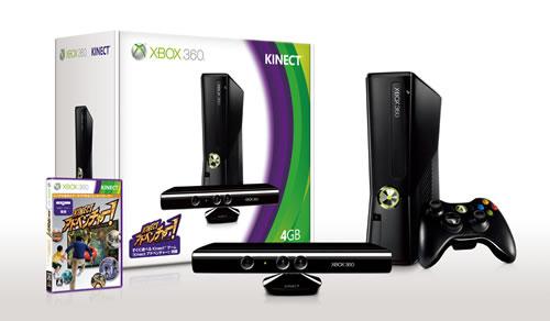 Xbox360 4GB+Kinect