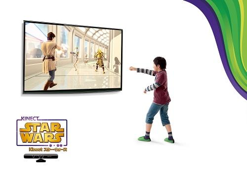 ライトセイバーによる格闘からダース・ベイダーとのダンス対決まで楽しめるXbox360『Kinect スター・ウォーズ』は4月5日発売へ