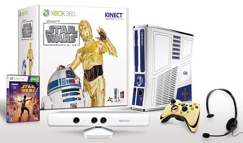 『Xbox360 320GB Kinect スター・ウォーズ リミテッド エディション』