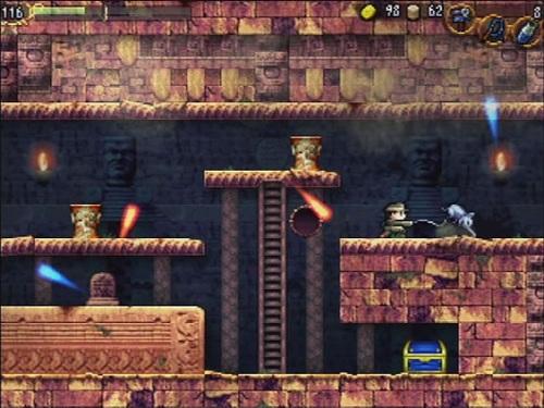 Wiiウェア版『LA-MULANA』
