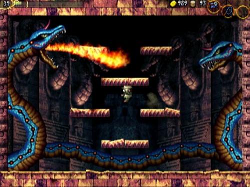 伝説のMSX風フリーゲーム『LA-MULANA』 Wiiウェア版の日本先行配信が決定