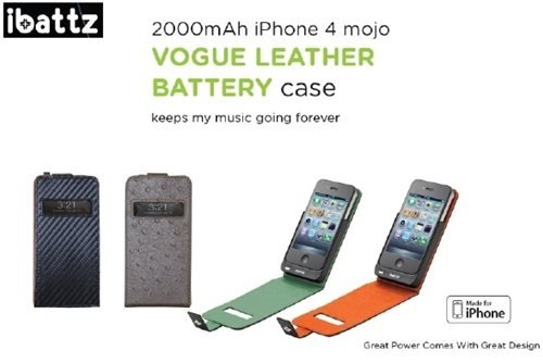 iBattz Mojo Battery Case LEATHER