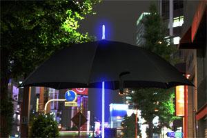 レインボーフラッシュLED傘