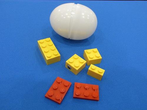 6ピースの『レゴブロック』を配布
