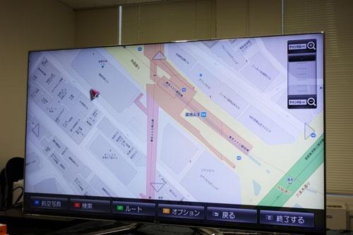 『Googleマップ』も利用可能