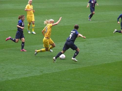 【ロンドンオリンピック】なでしこジャパンが決勝進出確定! 女子サッカー日本vsスウェーデン戦を観てきました