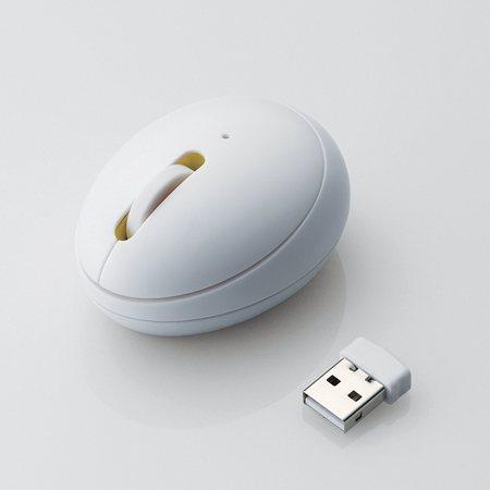 EGG MOUSE mini M-EG3DR ホワイト