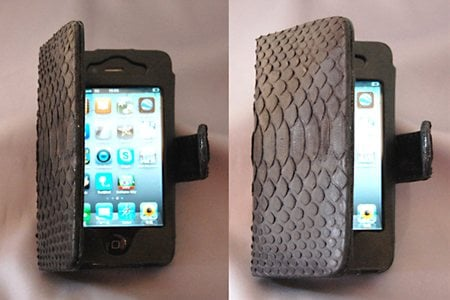マーユ『iPhone 4 横開きブック型レザーケース