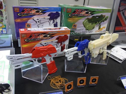 安全に遊べてカッコイイ輪ゴム銃『ゴム弾ブラスター』