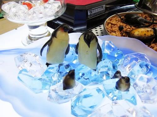 コイテイペンギンと流氷