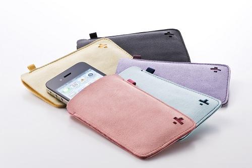 iPhone 4用マイクロファイバースリーブ