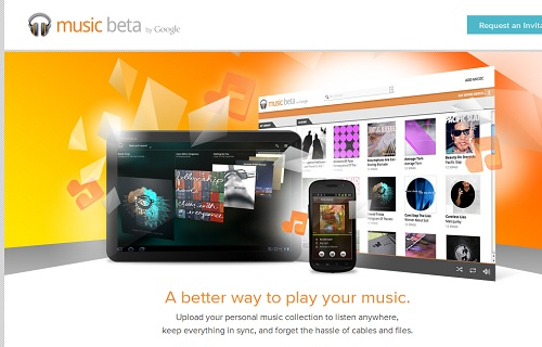 Music Beta by Google ウェブサイトより