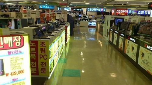 韓国はネットが普及しすぎてリアルの電気街がヤヴァイ