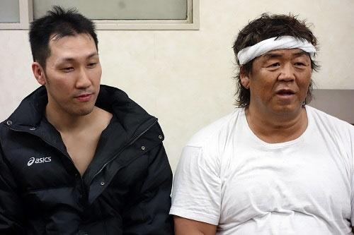 寺島さんと長州選手