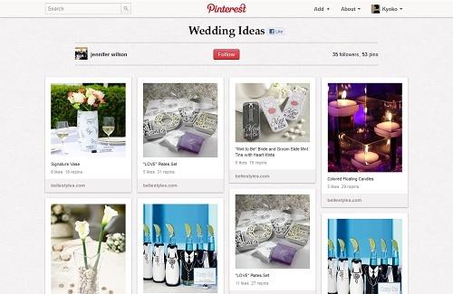Pinterest Wedding plan