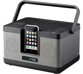 LunchBox iPod/CDプレーヤー Xa-7805