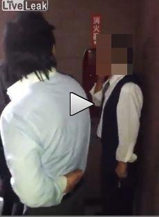 メンズパブの男がタクシー運転手をボコボコにする動画が話題に 慌てて削除逃亡へ