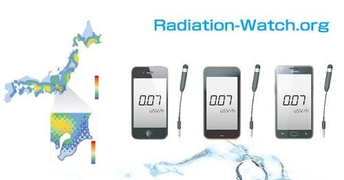 radiation-watch.org ウェブサイト