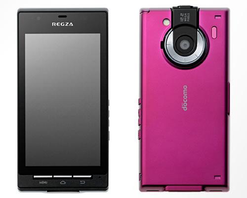 ドコモのAndroidスマートフォン『REGZA Phone T-01C』の発売日は12月17日に決定