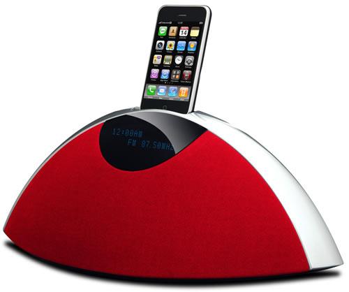 ラウンドフォルムの『iPod/iPhone』対応サウンドシステム『Rhythm Arc mini』