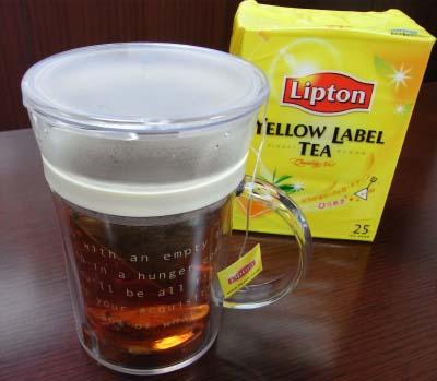 """リプトンに教えてもらった""""ティーバッグでも美味しい""""紅茶のいれ方(ストレートティー編)"""