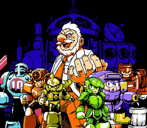 ドクターマッドと6体のロボット