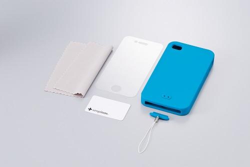 iPhone 4用シリコンケースセット