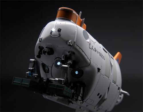 『1/48 有人潜水調査船しんかい 6500』投光器