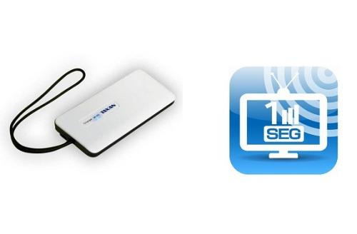 iPhone/iPadやAndroidスマートフォンでワンセグ視聴を可能にするチューナー 加賀ハイテックとソフトバンクBBから発売へ