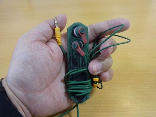 発売直前の『スター・ウォーズ』コードロール付きイヤホンを見せてもらいました