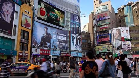 親近感のわく台湾のまち『西門町』