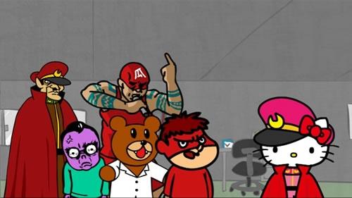 コラボ告知のアニメも公開