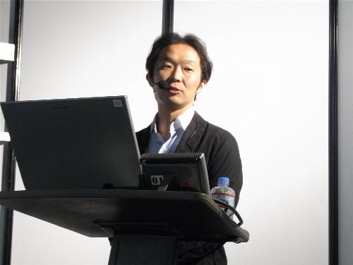 NTTドコモ スマートフォン事業推進室アプリケーション企画担当主査 蜷川智之氏