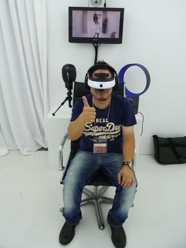 【TGS2012】目の前で実像と虚像が入れ替わる不思議体験 ソニーの没入快感研究所の実験に参加してきた