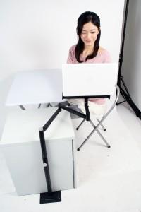フレキシブルノートパソコンアーム(スタンド式)