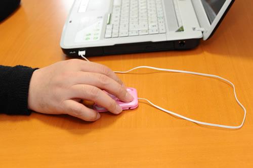OTASが発売した超薄型マウス『トラベルマウスZ1668』