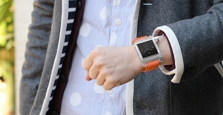 『TriPorter for iPod nano 6G』Wrist watch style