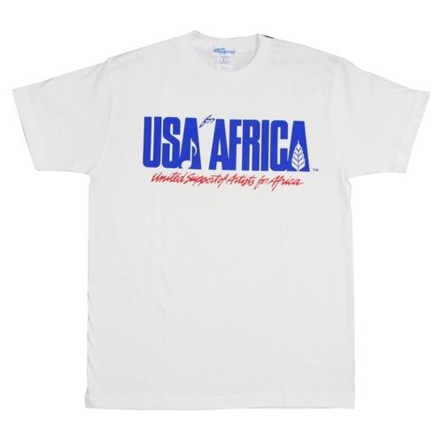『USAフォー・アフリカ』Tシャツ