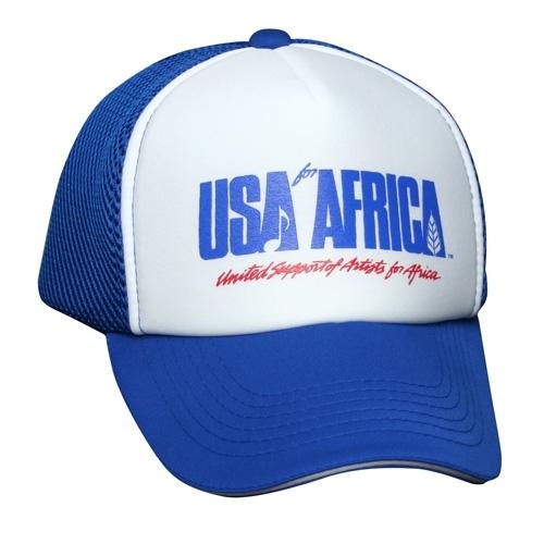 『USAフォー・アフリカ』キャップ