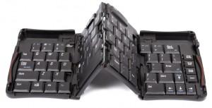 USB折り畳み式ミニキーボード USMINKBK