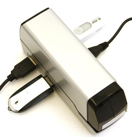 USB電動ホチキス ハブ