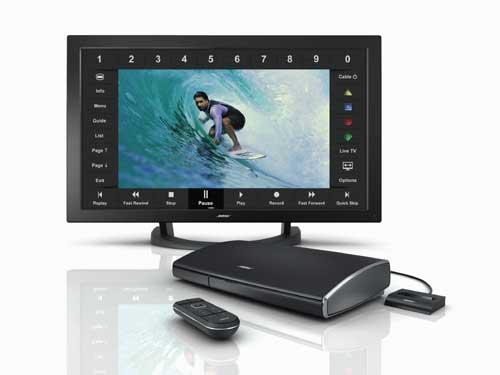 スピーカーやウーファーが要らないボーズの新しいホームシアターシステム『VideoWave entertainment system』