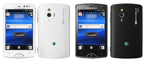ソニー・エリクソンの『Xperia mini』がイー・モバイル向けに『Sony Ericsson mini』として10月28日発売へ