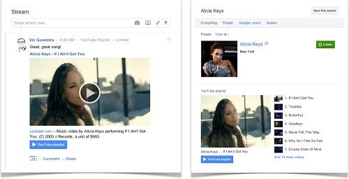 『Google+』Youtube slider