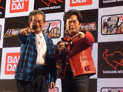 【東京おもちゃショー2012】永井豪と水木一郎も「ゼーット!」と祝福! 『マジンガーZ』40周年を記念して『DX超合金魂 マジンガーZ』を発表